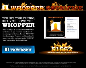 "Screenshot ""Whopper sacrifice"""
