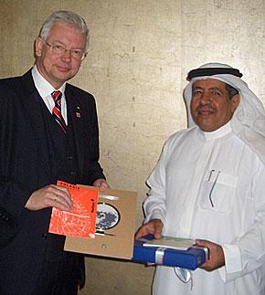 Roland Koch in Saudi Arabien
