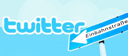 Einbahnstraße: Twitter als One-Way-Medium