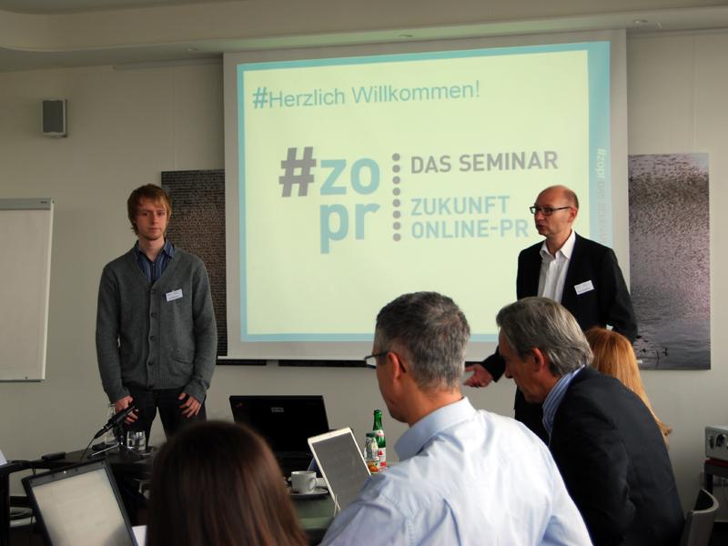 Zukunft Online PR 2010 - Das Seminar