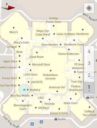 Indoor Google Maps für Android