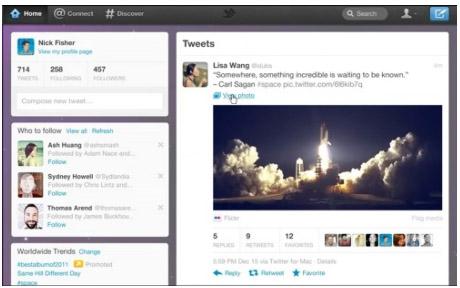 Screenshot fly.twitter.com