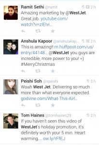 Bild: Screenshot Twitter #WestJet