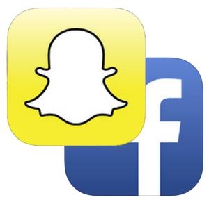 Snapchat Facebook Logo