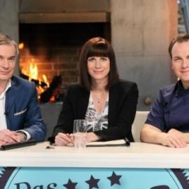 Das Mentorenteam (v.l.): Peter John Mahrenholz, Inga Koster und Tim Raue