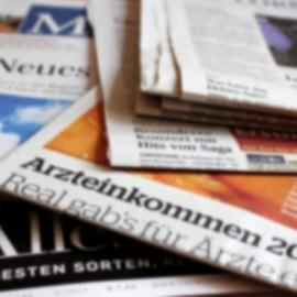 Ein paar Zeitungen