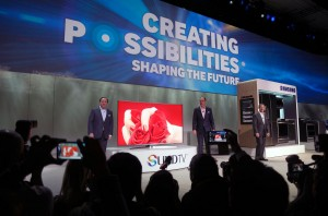 Samsung Pressekonferenz anlässlich der Consumer Electronics Show 2015 in Las Vegas