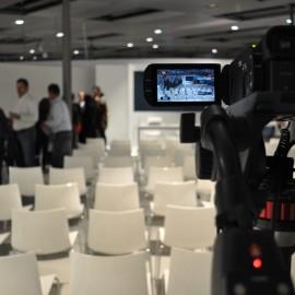 Vorträge in´s Netz gestreamt: Kamera.