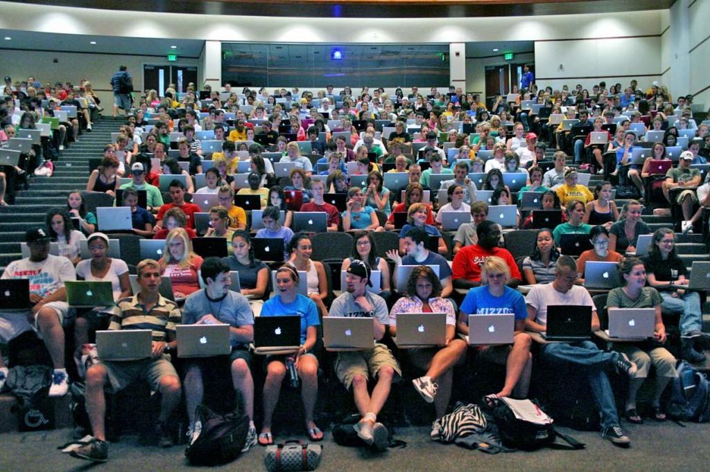 Ohne Laptop geht nix. Foto:  Brett Jordan, Flickr