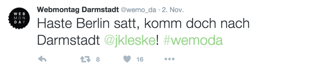 Bildschirmfoto 2 #wemoda
