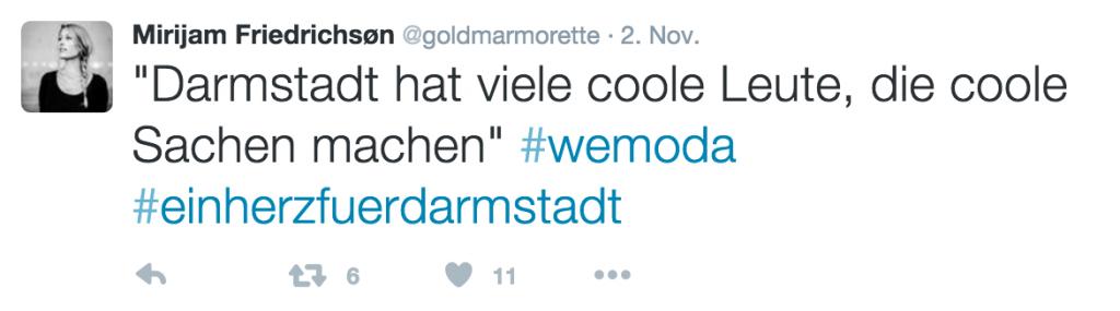 Bildschirmfoto 1 #wemoda