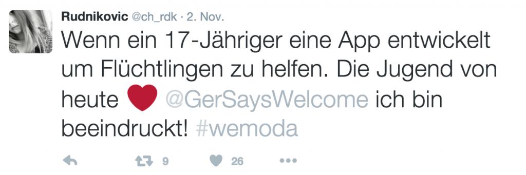 Bildschirmfoto 4 #wemoda