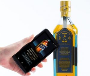 Johnnie Walker Smart Bottle