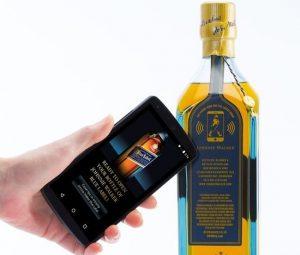 Johnnie Walker Smart Bottle