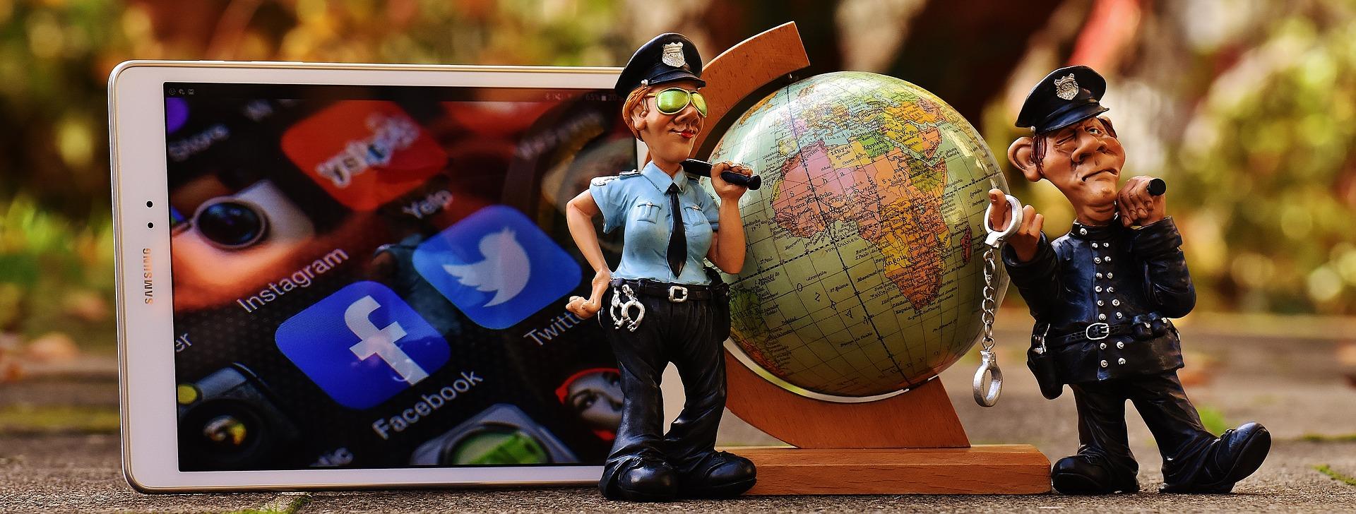 Die Polizei in den sozialen Medien