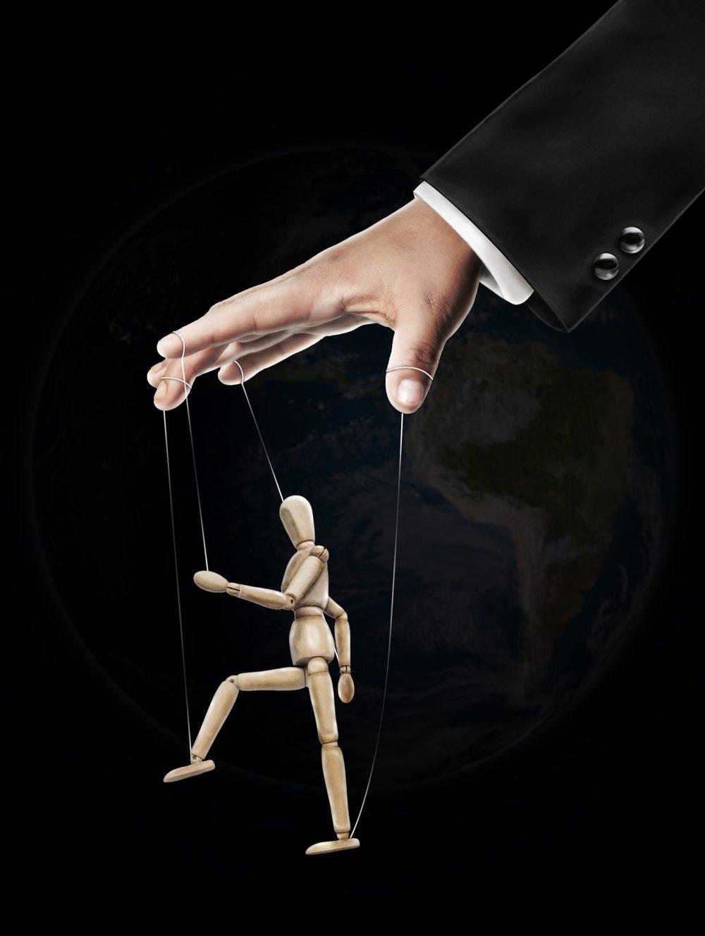 Eine Marionette zur Verhaltensmanipulation