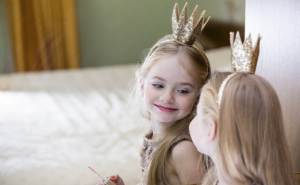 Traum einer Märchen-Prinzessin