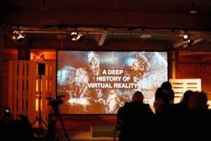 Erste Slide einer Präse zum Thema VR