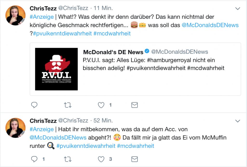 """Tweet von """"ChristTezz"""""""