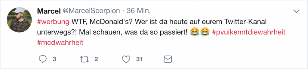 "Tweet von ""MarcelScorpion"""