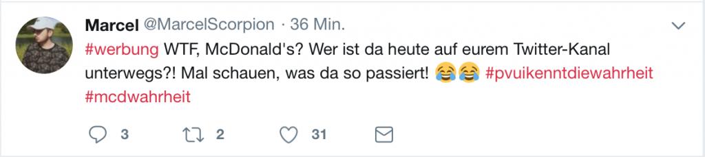 """Tweet von """"MarcelScorpion"""""""