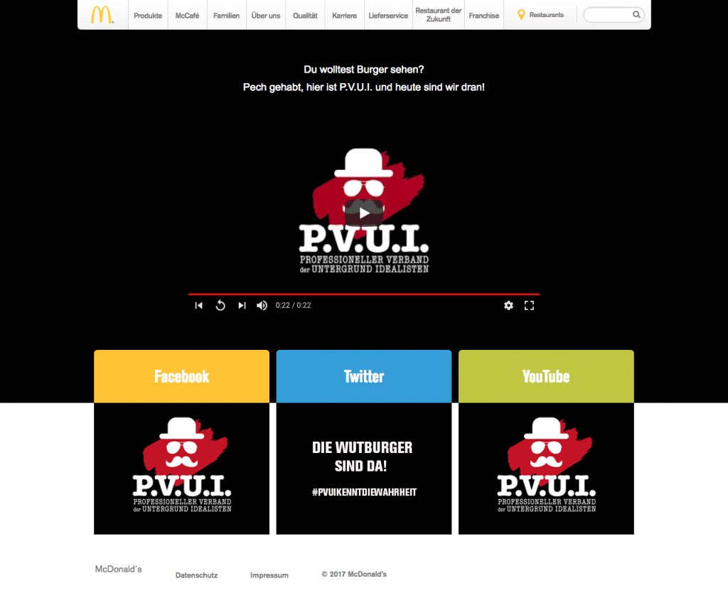 Screenshot der Website um 11:24 Uhr