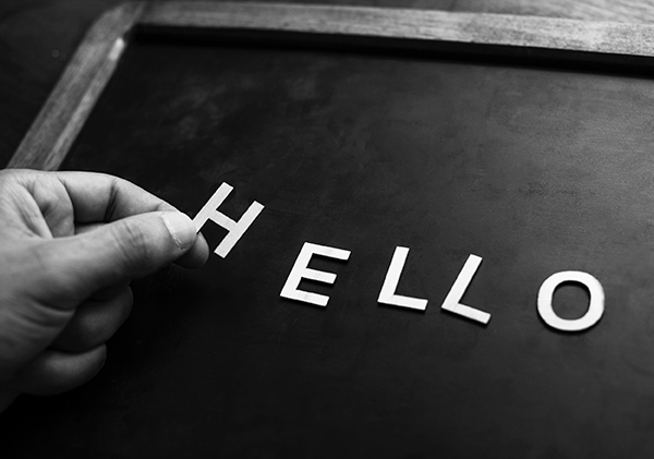 """Beitragsbild """"Hello"""""""