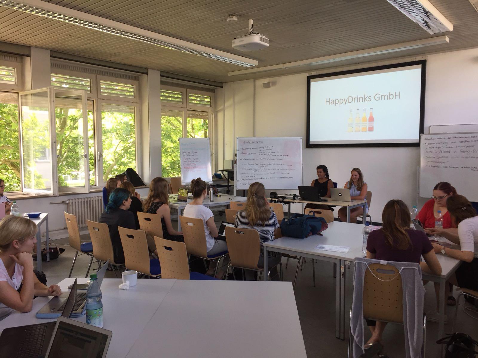 Foto aus dem Krisenkommunikations-Kurs mit Sebastian Riedel