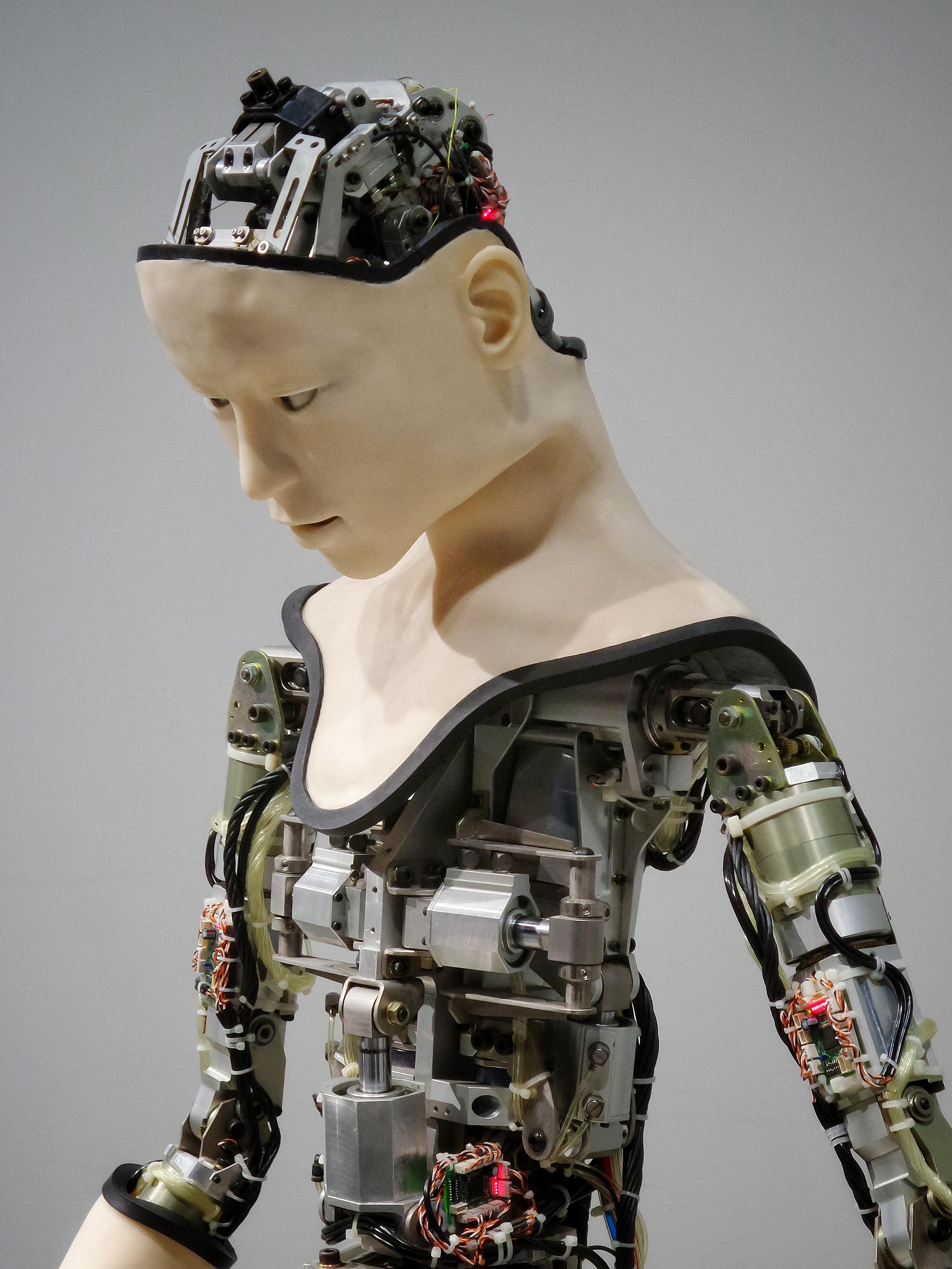 Künstliche Intelligenz in Form einer Humanoide