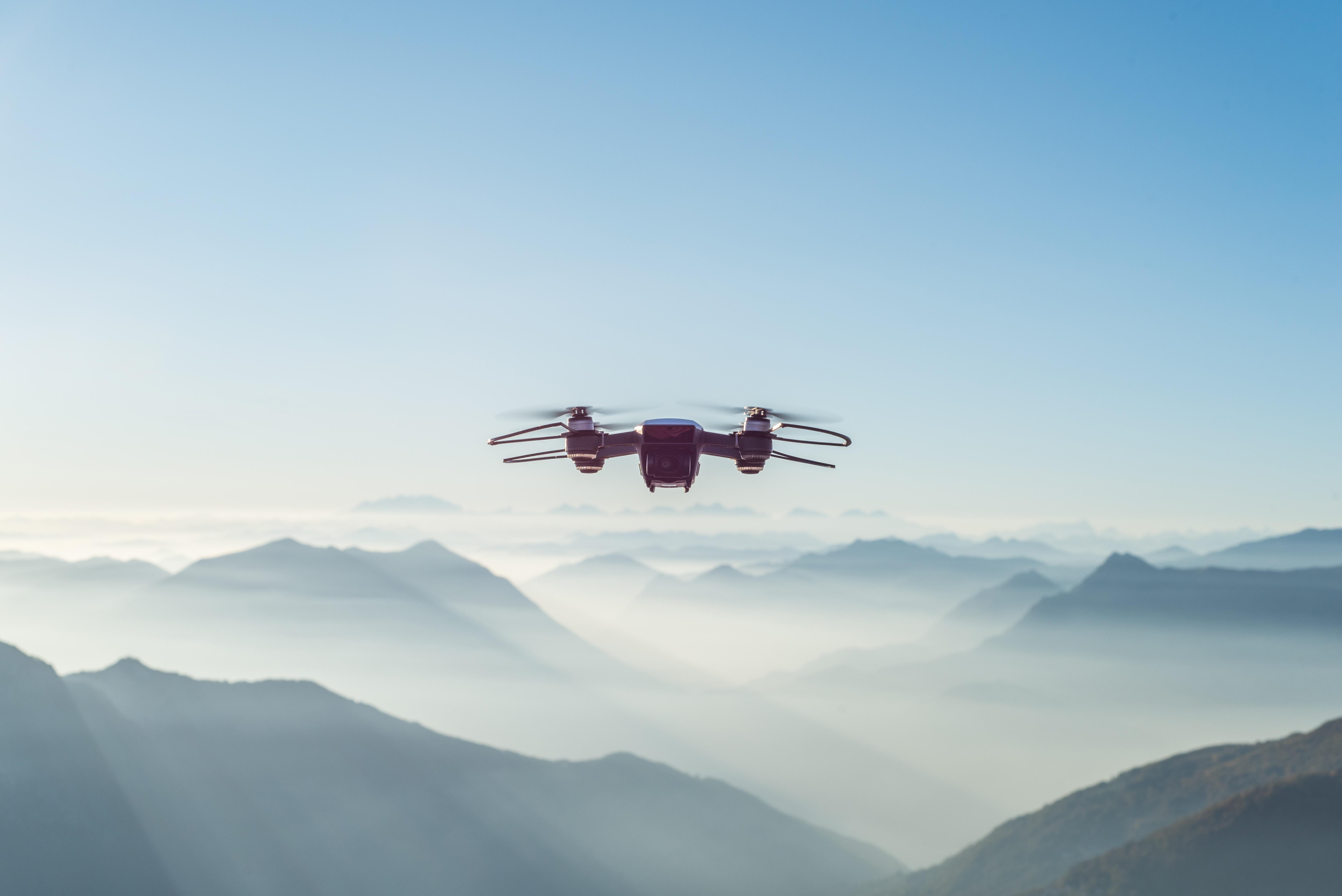 Drohne Foto mit Panorama