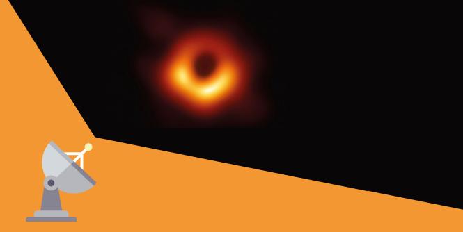 Schwarzes Loch fotografieren